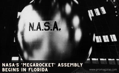 NASA's 'megarocket' assembly begins in Florida