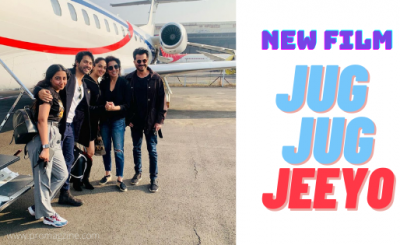 Varun Dhawan, Kiara Advani share photos from their new film Jug Jug Jeeyo