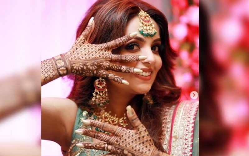 "It's a Wed ""Lock"" for Sugandha Mishra and Sanket Bhosale in Jalandhar"