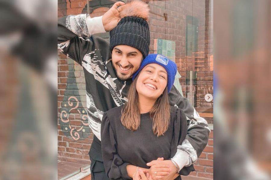 Neha Kakkar (Singh) and Rohan Preet Singh celebrate their 6 months duet
