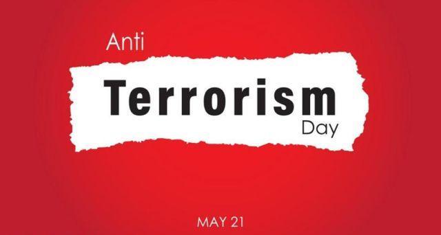 India celebrates anti-terrorism day on May 21st