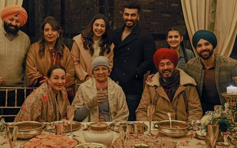 Arjun Kapoor, Rakulpreet, John Abraham, Nina Gupta and Kanwaljeet come together in – Sardar Ka Grandson!