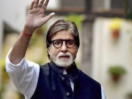 26.5 Million followers on Instagram view Amitabh Bachchan's post taking his second jab of the vaccine!