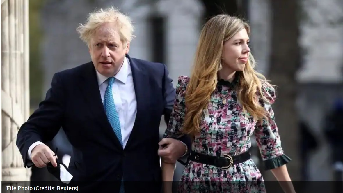 Boris Johnson and Carrie Symonds wed in a quiet ceremony on 29th May in London