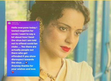 After Twitter, it's a jibe at Instagram from Kangana Ranaut
