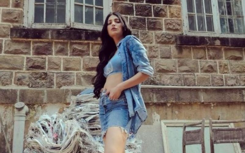 Celebrity daughter Shruti Haasan says she is independent and is working to support herself!