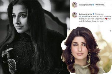 Twinkle Khanna puts up gratitude posts on her social media