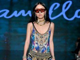 Super model Amber Wang